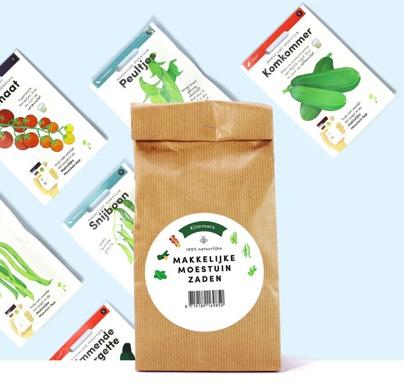 Klimmerspakket Makkelijke Moestuin zaden