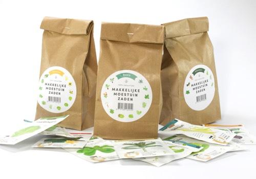 Totaalpakket Makkelijke Moestuin zaden