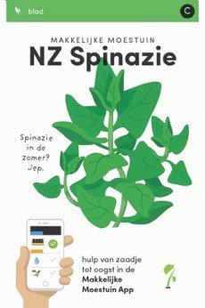 Makkelijke Moestuinzaden Nieuw Zeelandse spinazie