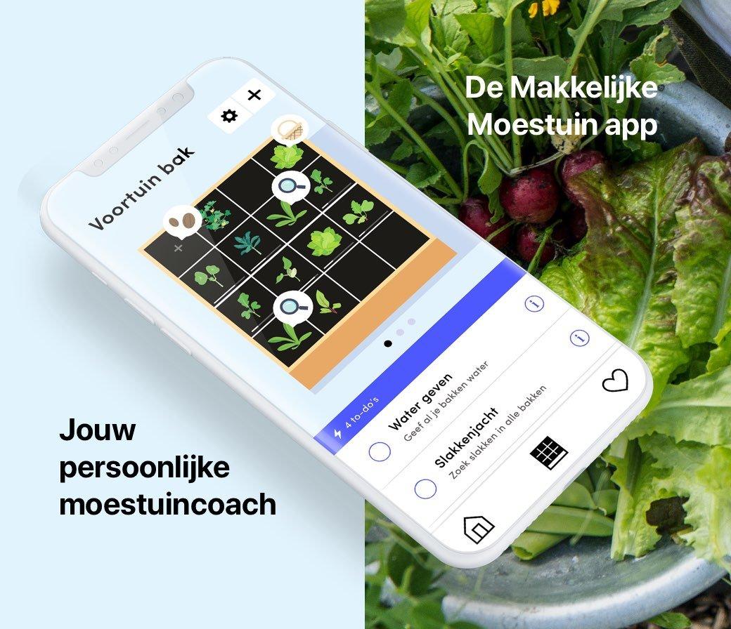 Hoe gebruik je de Makkelijke Moestuin app?