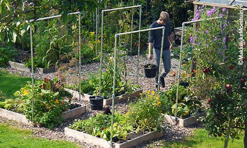 Begin september: lekker warm weer en verse, nieuwe oogst