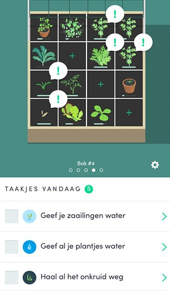 Grote update van de Makkelijke Moestuin app