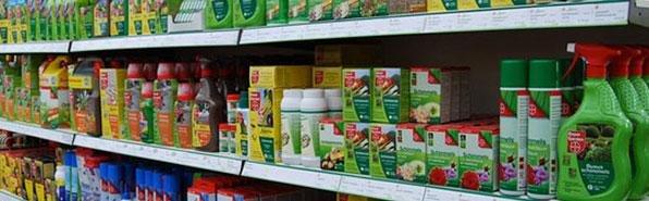 Schadelijke bestrijdingsmiddeltjes van Bayer en Pokon